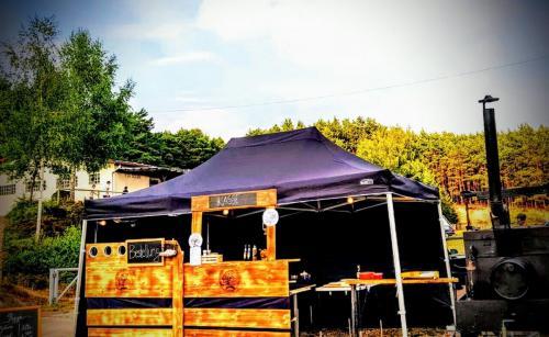 Der Pizzazug feiert mit dem Fussballverein Sulzbach