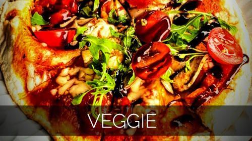 Veggie Pizza frisch aus dem Pizzazug